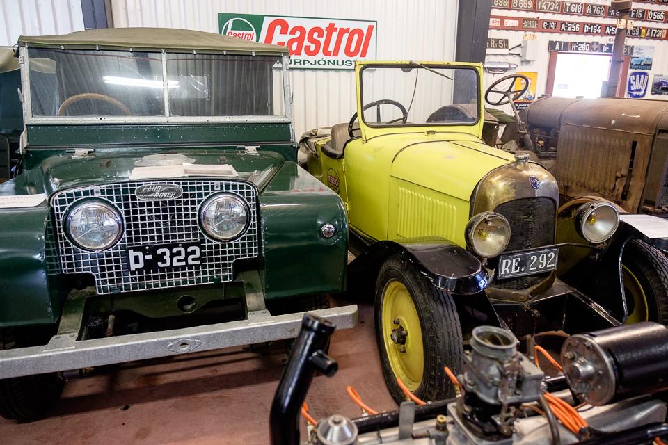 Automobilmuseum med Citroen