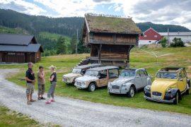 Sommerens Mehari tur rundt i fjordlandet i Norge